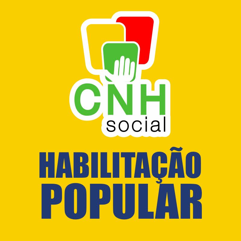 CNH Social 2022 Inscrições: CNH Popular 2022