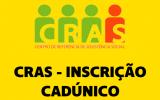 Inscrição CRAS - CadÚnico 2019
