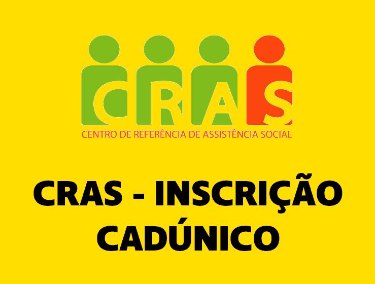 Inscrição CRAS - CadÚnico 2022