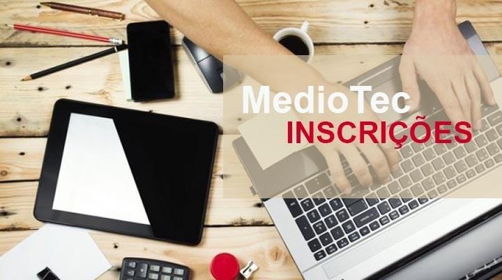 Inscrição Mediotec pela internet