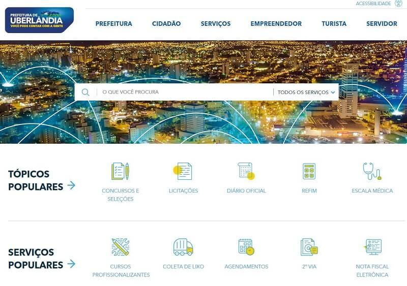 Inscrições Matrícula Escolar Uberlândia 2021