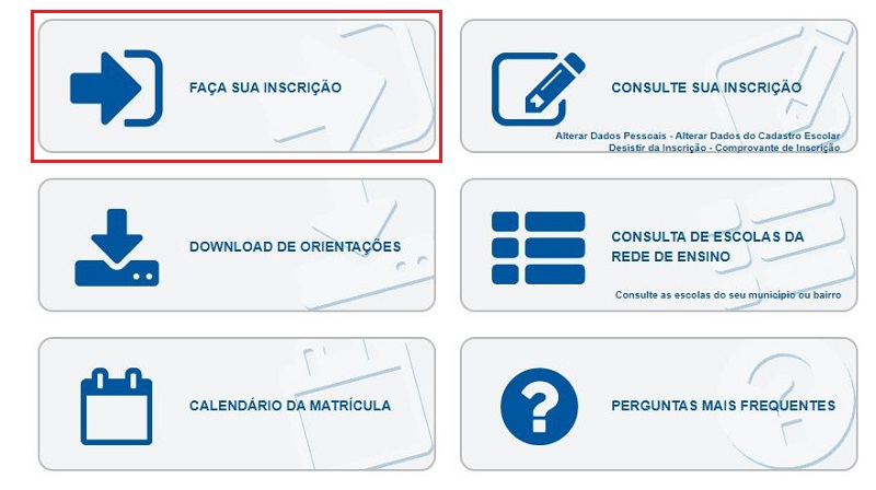 Matrícula Online SEDUC PE