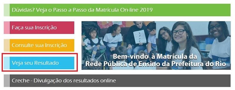 Resultado Matrícula Rio 2021