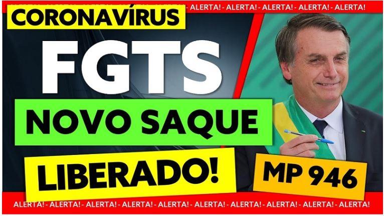 Saque FGTS Coronavírus