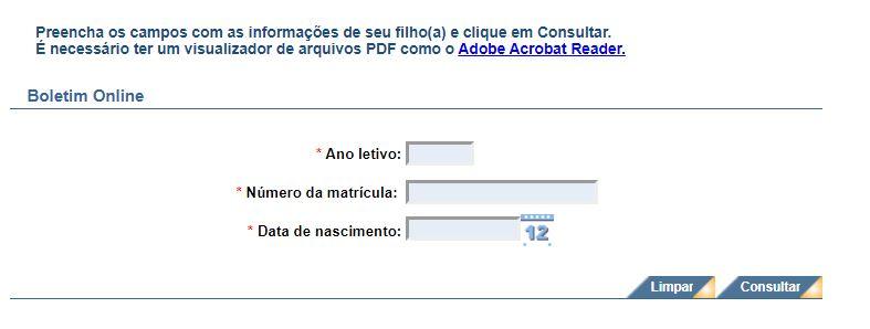 Como Consultar o Boletim Online Bahia SGE