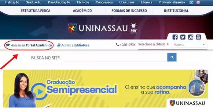 Portal do Aluno Uninassau