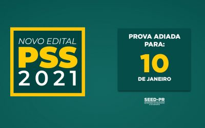 Inscrições PSS 2021